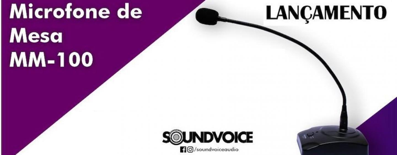 Soundvoice apresenta novo microfone tipo gooseneck