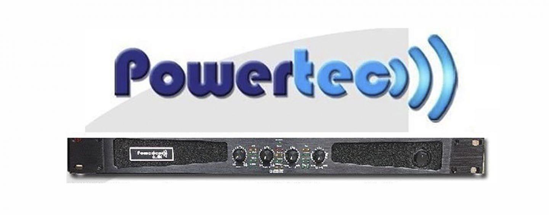 Amplificadores Powertec são o destaque da Stagetec