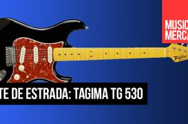 Teste da guitarra Tagima TG530