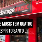 Loja: Backstage Music visa o bom atendimento