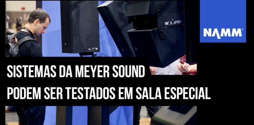 NAMM 2020: Meyer Sound terá sala de demo especial na feira