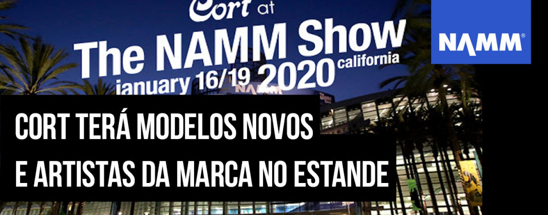 NAMM 2020: Cort leva seus artistas para NAMM