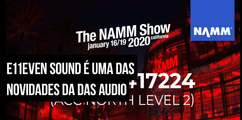 NAMM 2020: DAS fará festa de aniversário na feira