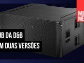 KSL-SUB é a adição para a família SL da d&b