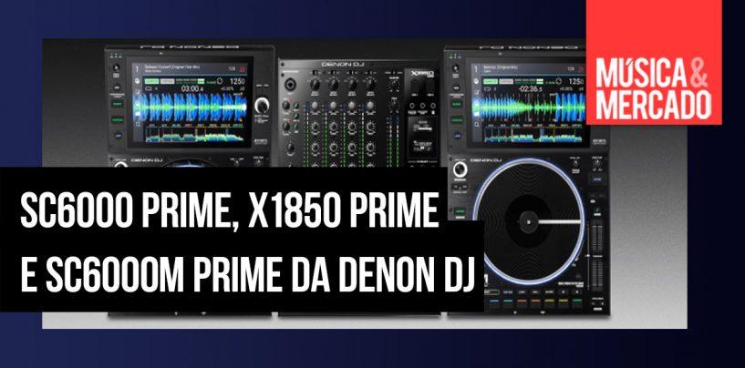 Denon DJ tem novas adições à linha Prime