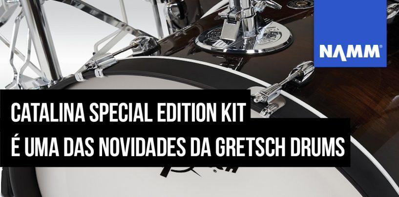 NAMM 2020: Gretsch Drums lança nova carcaça Catalina Special Edition