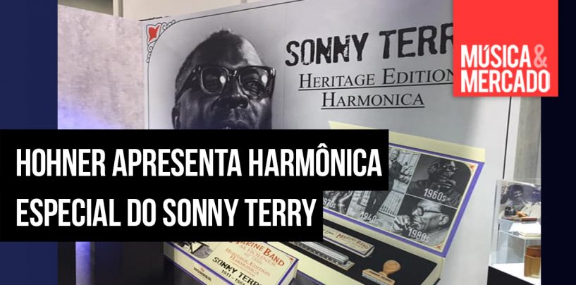 Hohner lança harmônica Sonny Terry Heritage Edition
