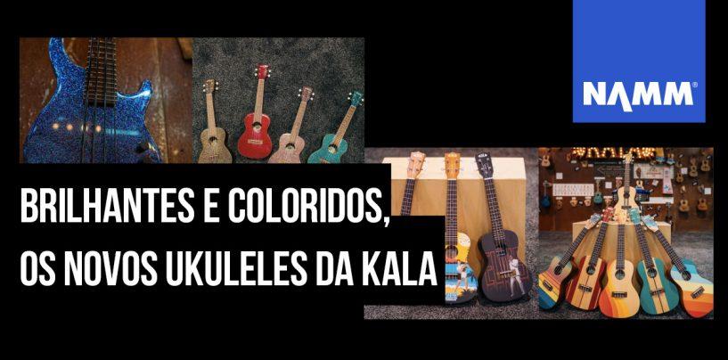 NAMM 2020: Kala apresenta mais ukuleles para esse ano