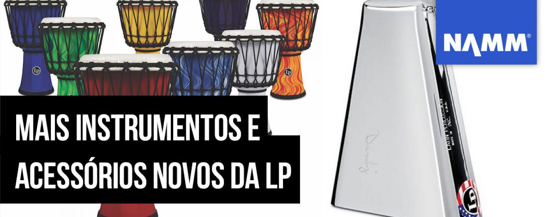 NAMM 2020: Latin Percussion lança mais instrumentos e acessórios