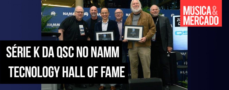 Série K da QSC entra no NAMM TECnology Hall of Fame
