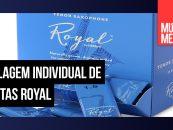Nova embalagem individual de palhetas Royal D'Addario Woodwinds