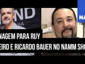 NAMM Show realiza cerimonial de tributo para Ruy Monteiro e Ricardo Bauer