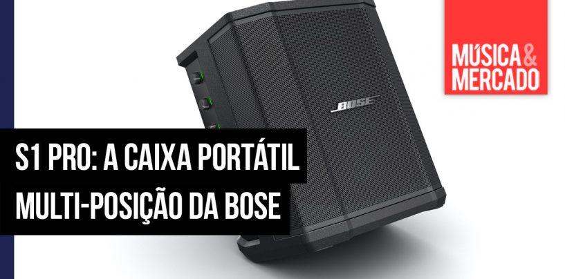 S1 Pro: a caixa portátil multi-posição da Bose