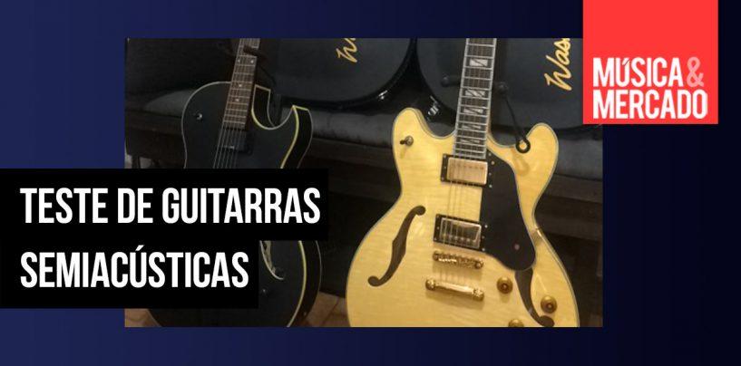 Teste de guitarras: O gênesis da semiacústica