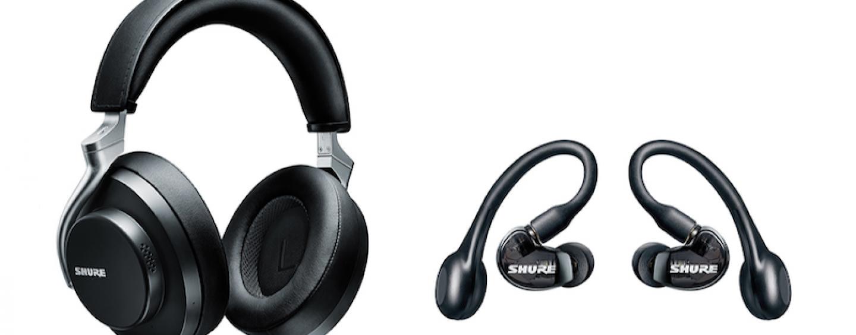 Shure apresenta nova linha de fones de ouvido Aonic