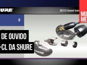Fones de ouvido SE215-CL da Shure