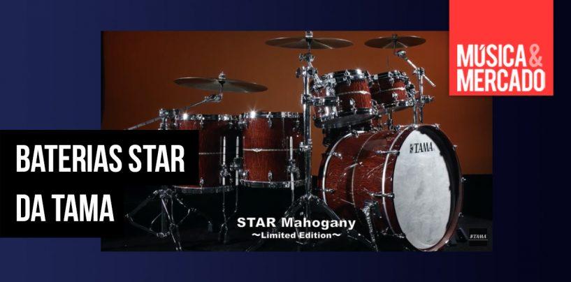 Tama apresenta kits de bateria Star