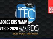 NAMM 2020: Ganhadores dos NAMM TEC Awards