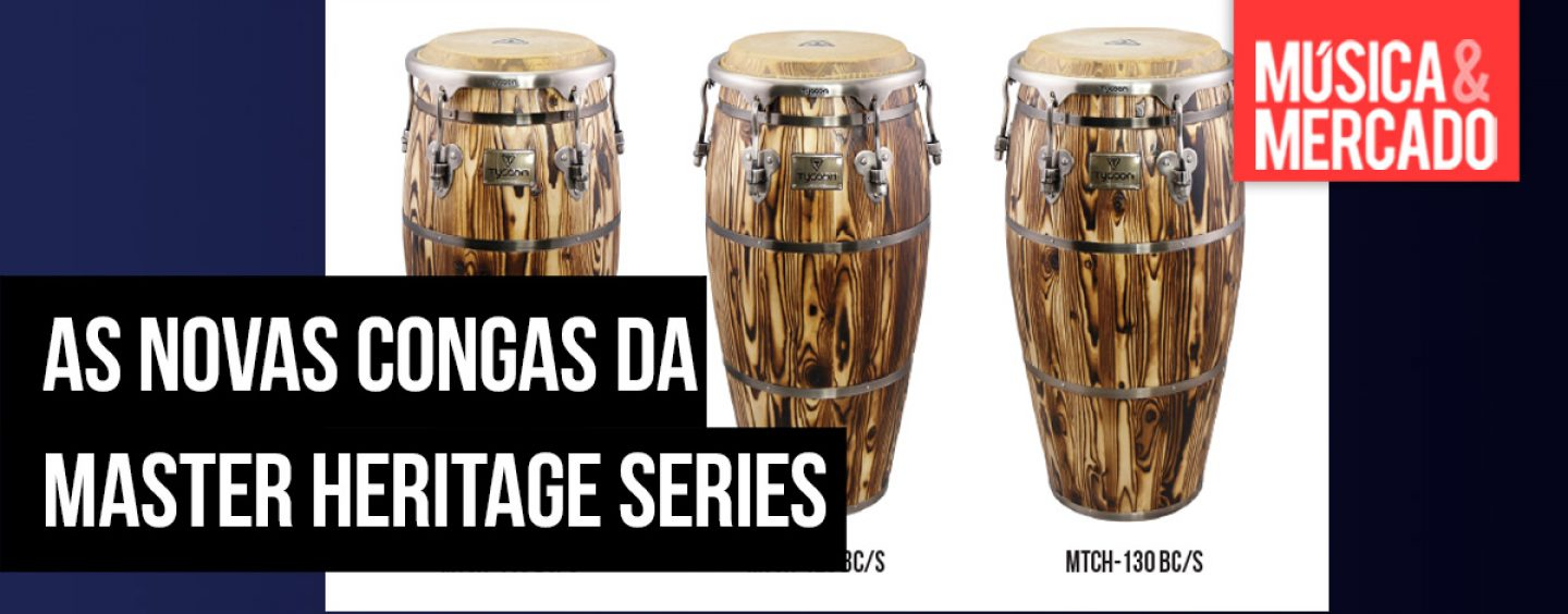 Congas Master Heritage Series da Tycoon