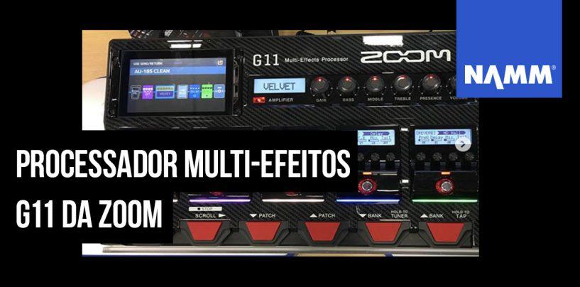 NAMM 2020: Zoom lança G11