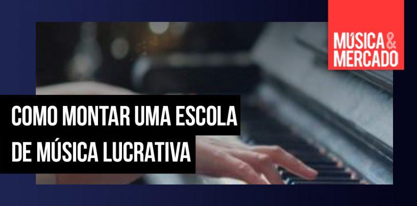 Como montar uma escola de música