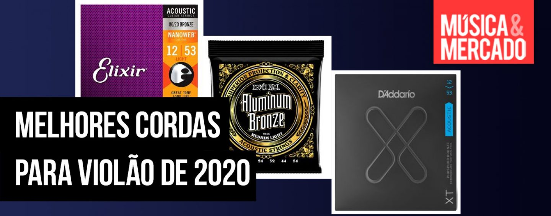 As melhores cordas internacionais para violão de 2020