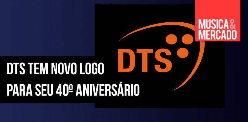 DTS comemora 40 anos com novo logo