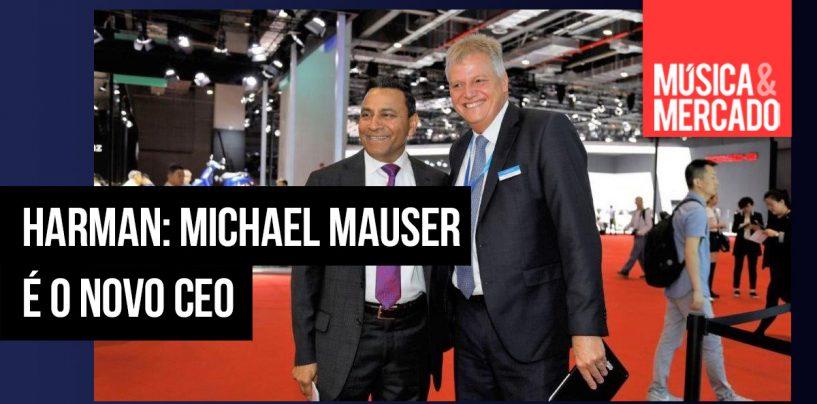 Harman muda de CEO: Michael Mauser sucederá Dinesh Paliwal