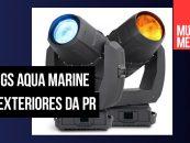 Mais duas versões da luz Aqua Marine 580 da PR Lighting