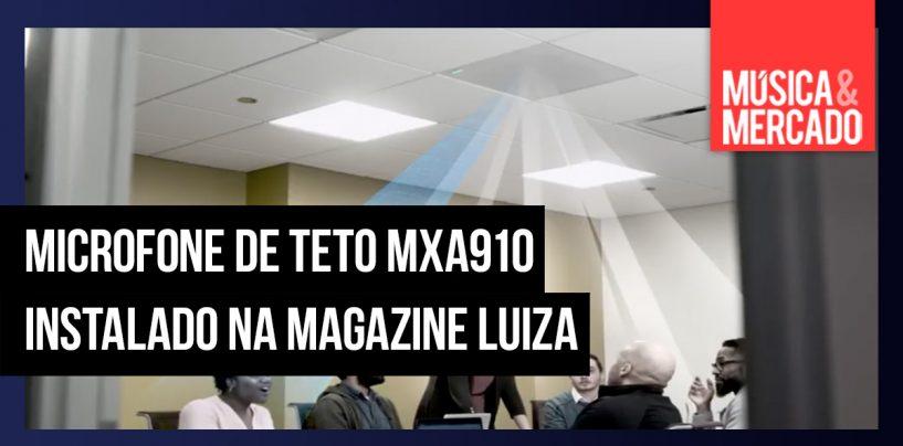 Magazine Luiza instala microfones Shure para melhorar comunicação