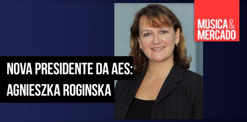 Agnieszka Roginska é a nova presidente da AES