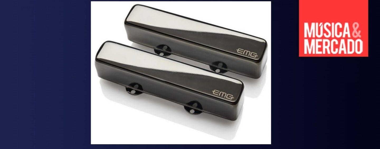 """Captadores RT """"Riptide"""" Set da EMG disponíveis no mercado"""