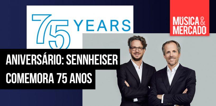 Sennheiser faz 75 anos
