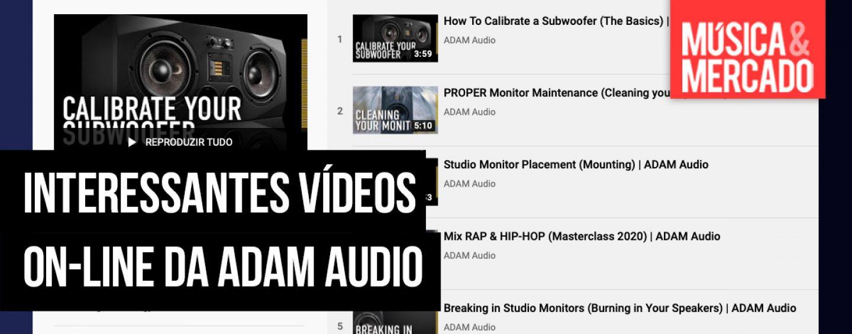 ADAM Audio estréia a ADAM Academy