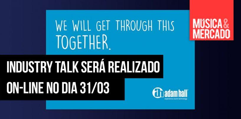 Adam Hall Group fará Industry Talk no dia 31 de março