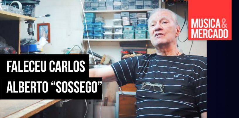 """Falece Carlos Alberto """"Sossego"""" Lopes"""