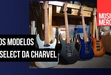 Charvel adiciona novos modelos de guitarra USA Select DK24