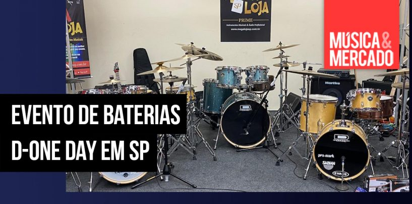 D-One Day Drums em São Paulo