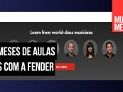 Fender oferece 3 meses de aulas gratuitas