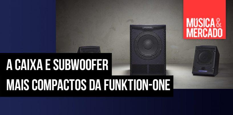 Funktion-One apresenta suas caixas mais compactas