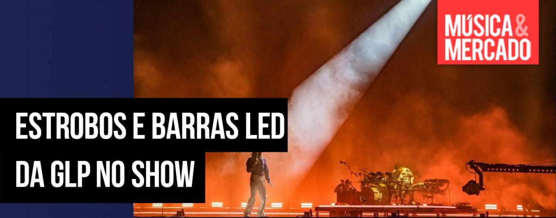 30 Seconds to Mars usou luzes da GLP