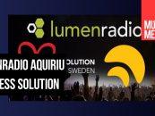 LumenRadio e Wireless Solution se unem