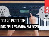 Produtos lançamento da Yamaha
