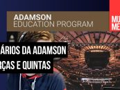 Webinários gratuitos da Adamson