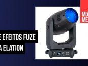 Luz de efeitos Fuze SFX da Elation em distribuição