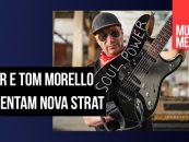 Fender lança stratocaster com Tom Morello