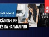 Programa de educação on-line da Harman Pro