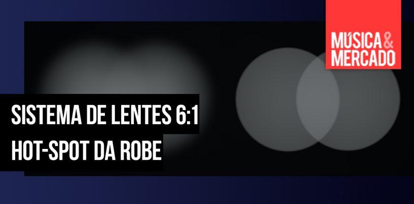Robe cria sistema de lentes para obter campo de feixe plano