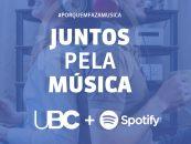 UBC e Spotify fazem doação para músicos afetados pela crise do coronavírus