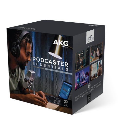 AKG Podcasting Essentials Packaging D x